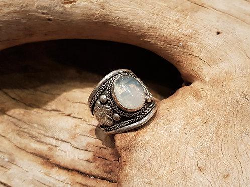 jewelry ring with opalite opaliet sieraden winkel kopen amsterdam