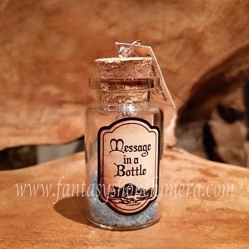 Message in a bottle pendant