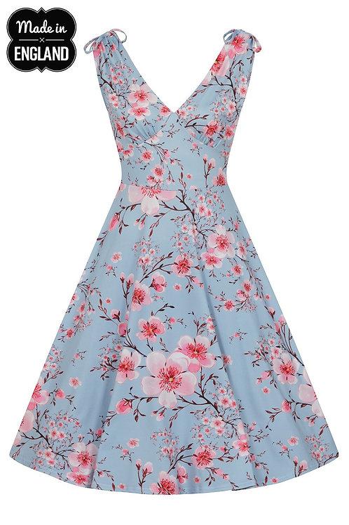 blossom swing dress circle skirt petticoat 50's style volle cirkel jurk