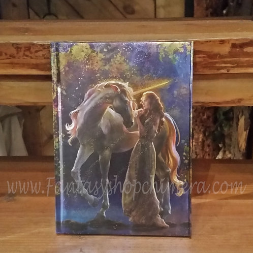 Sophie wit Unicorn  Pocket Notebook