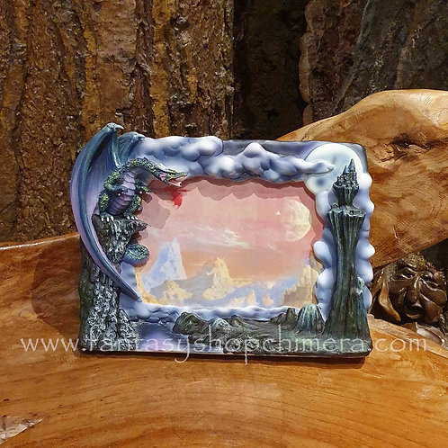 foto frame dragon rocks fotolijstje draak draken decoratie