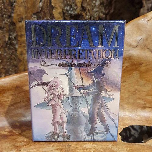 dream interpretation oracle set deck cards dromen uitleg interpretatie orakelkaarten voorspellen