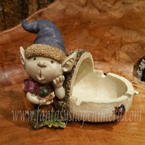 pixie gnome dido ashtray asbak kabouter eikel acorn gnoom fantasiefiguren fantasy art store shop chimera