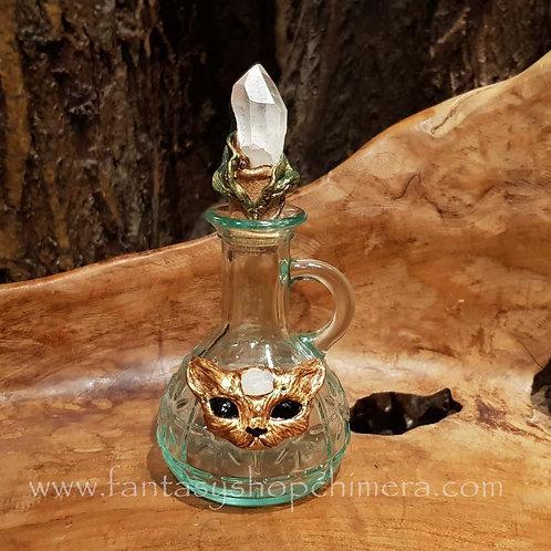 fantasy kitten potion bottle elixer toverdrank flesje poesje cat kat