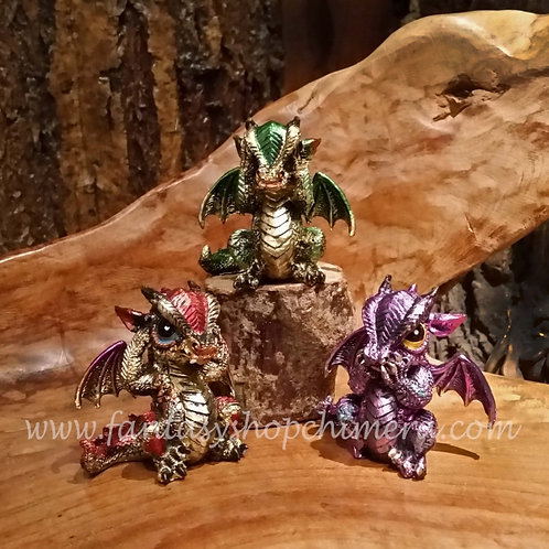 3 Wiselings dragons