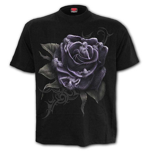 rose angel spiral tshirt alternatieve kleding elf fairy fantasy art anne stokes