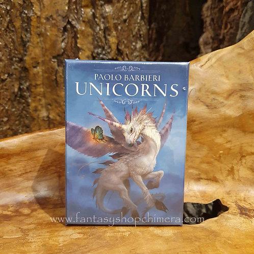 unicorns barbieri oracle dec cards orakelkaarten eenhoorns