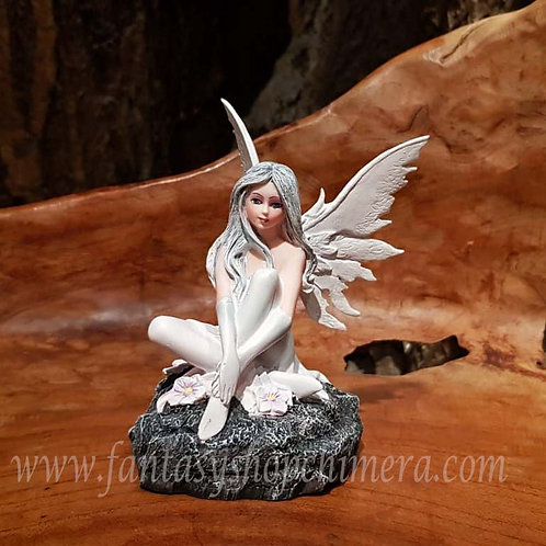 paloma snow white fairy figurine elfje elfenbeeldje feetje elfenwinkel amsterdam fantasy