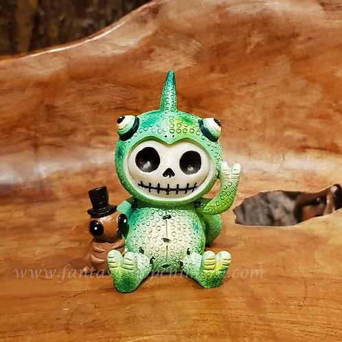 Camo furrybones cameleon misaki art voodoo doll puppet collectable furry bones fantasy shop chimera amsterdam