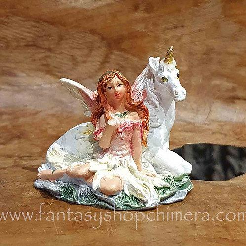 fairy unicorn friend figurine eenhoorn elfje beeldje fantasy shop