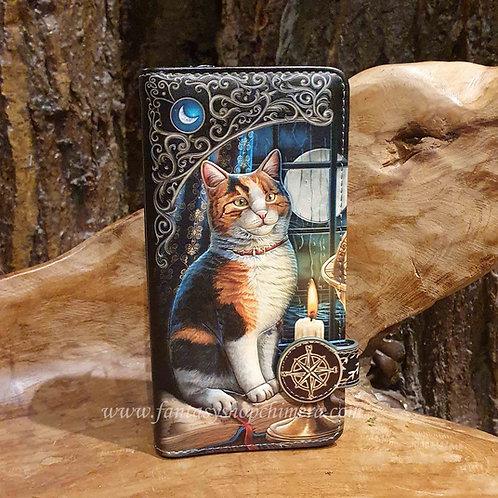 adventure awaits kitten tabby cat purse lisa parker portemonee portefeuille poes kat lapjeskat