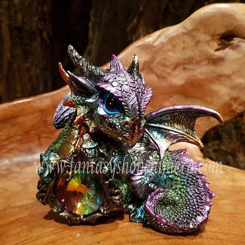 azuron draakje dragon dragonet crystal kristal beeldje figurine statue draken winkel amsterdam fantasy shop