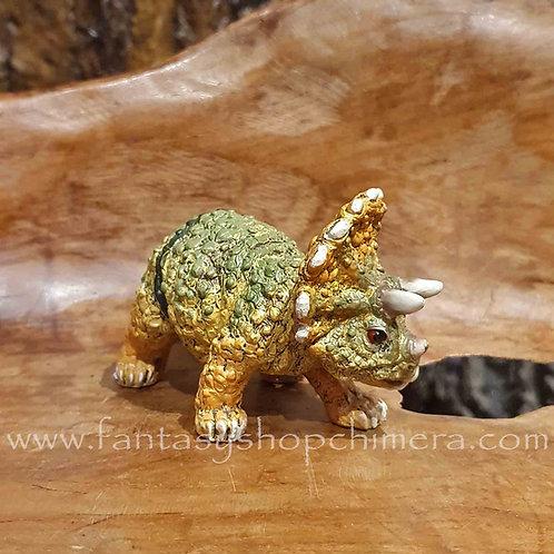 tricratops dinosaur figurine dinosaurus beeldje