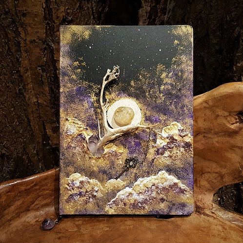 Key to the Universe sketch book Journal ooak