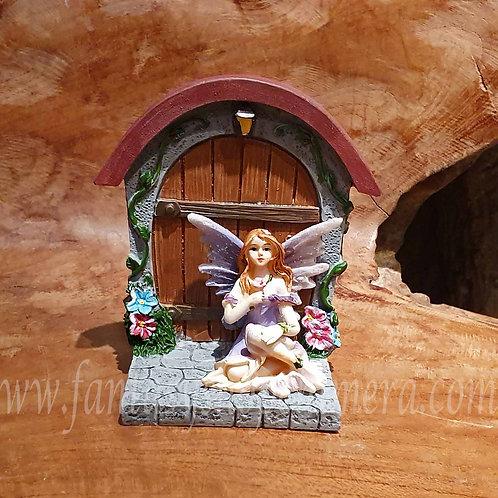 fairy door figurine house elfje deurtje elfendeurtje beeldje