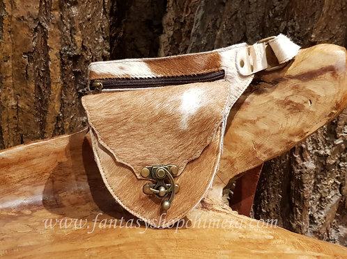 lether pouch belt c-lock steampunk fantasy rawhide leren heuptasje leer fantasy buidel