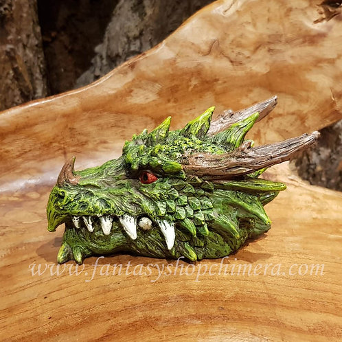 forest dragon head box drakenkop doosje