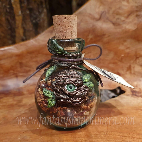 Elias's Magic Potions magical healing drink bottle eye good luck witch toverdrankje kruiden fles oog