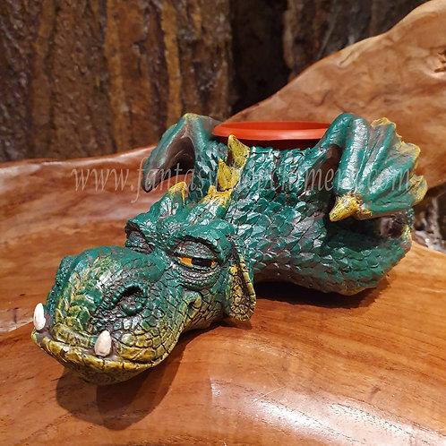Goofuss plant pot dragon figurine draak plantenpot garden ornament tuin woon decoratie drakenwinkel