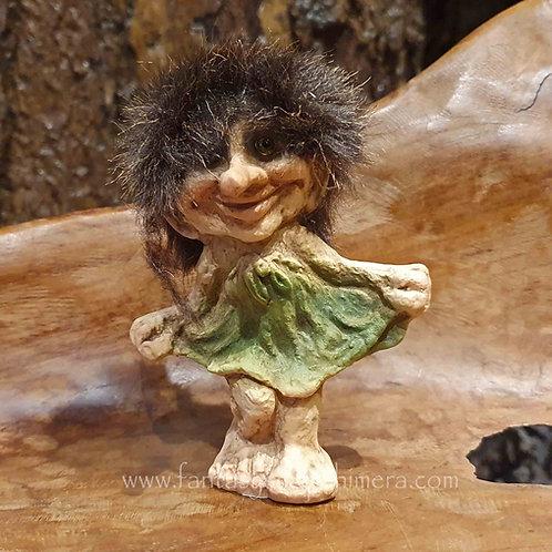 dancing girl troll nyform norwegian norway original noorse trol meisje dansend