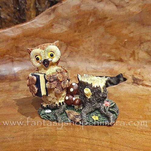 owl book pen holder stationary desk uiltje boek penhouder bureau accessoires accessories