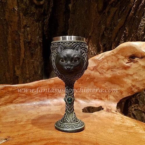 Black Cat Goblet