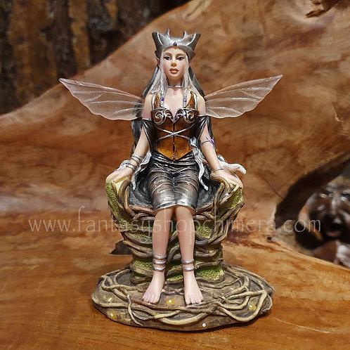 queen of the woods fairy renee biertempfel elfje elfenkoningin beeldje figurine elfjes kopen elfenwinkel