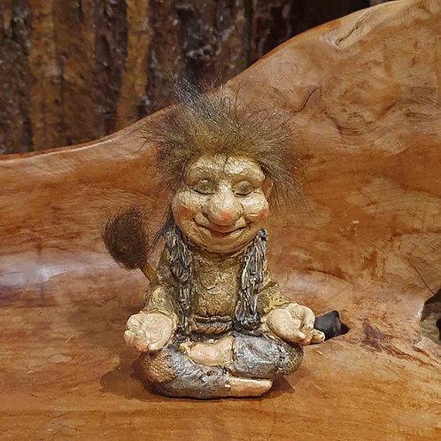 zen yoga troll figurine joga trol beeldje fantasy shop chimera amsterdam