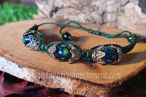 Universe Macramé  stacking bracelet