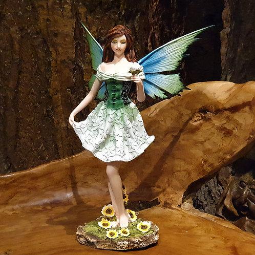 Daisy fairy figurine spring lente elfje kopen online madeliefjes beeldje elfenwinkel amsterdam
