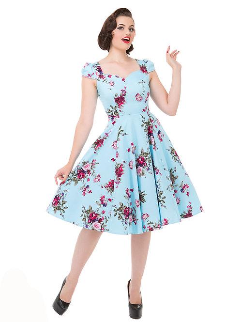 Piper swing dress petticoat h&r alternative wear hillbilly zomer jurkje 50's style stijl fantasy shop kledingwinkel amsterdam