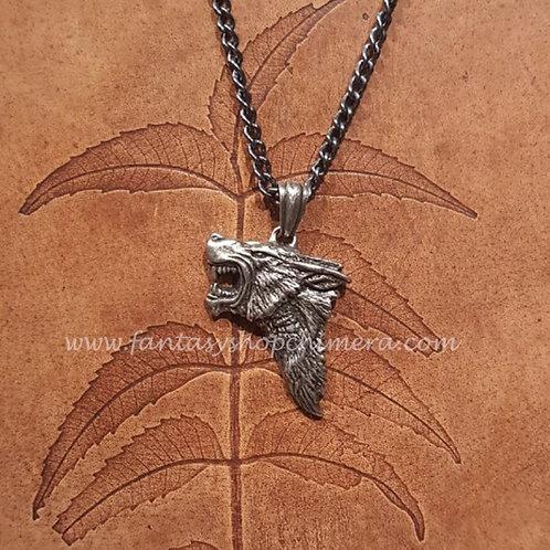 Dark Wolf Necklace