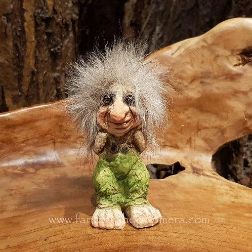 troll watching curious nyform original norwegian noorse trollen trollenwinkel trollenmannetje trolletje trol