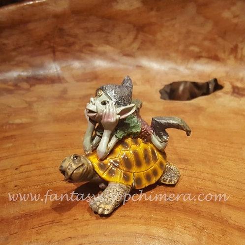 Pixie with Tortoise