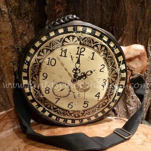 Steampunk Clock  shoulder bag