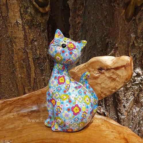 cat large money-bank spaarpot kat poes kitten pomme pidou
