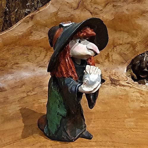 Witchy witch paor figurine heksje beeldje heksenwinkel wicca pagan mage