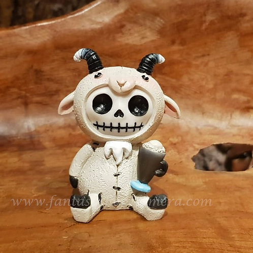 billy furrybones goat misaki art voodoo doll puppet collectable furry bones fantasy shop chimera amsterdam