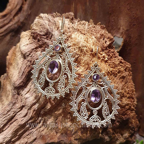 Amethyst Droppers earrings