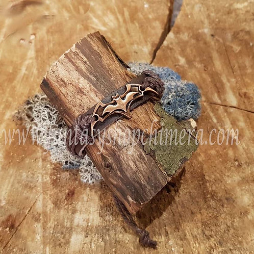 leather batman symbol bat bracelet vleermuis symbool leren armband heren sieraden mannen fantasy shop