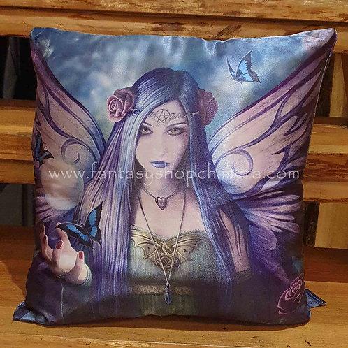 Mystic Aura fairy cushion kussentje met elf anne stokes