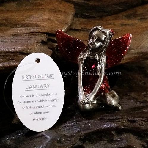 January birthstone fairy