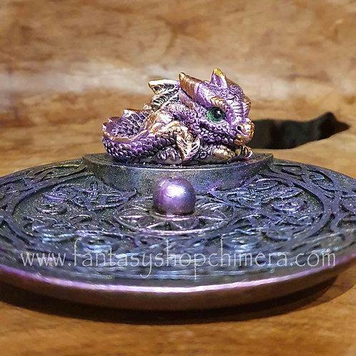 Dragon dish Incense Holder