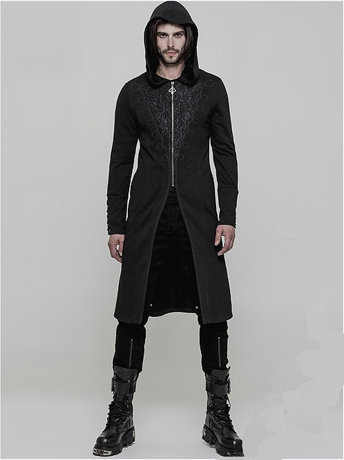 Jackson's jacket gothic pun rave narciss fantasy clothing alternatieve kleding larp herenkleding herenjas victorian men's