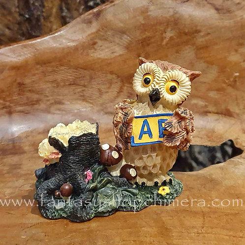 owl abc pen holder stationary desk uiltje penhouder bureau accessoires accessories