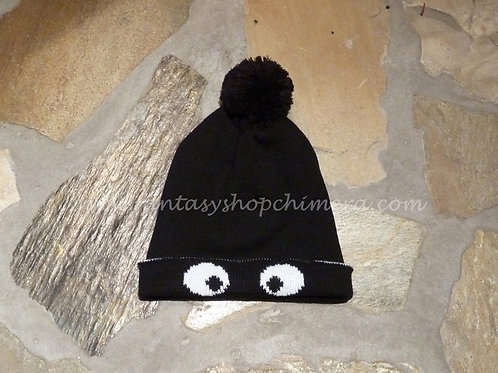 Beanie with eyes