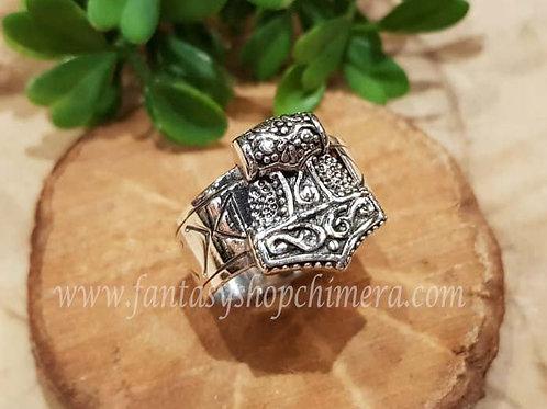 hammer thor hamer ring silver zilver viking celtic jewelry jewllery symboloc symbolische sieraden winkel fantasy shop