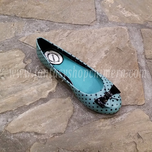 Polkadot Blue shoes