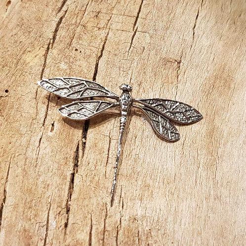 libelle dragonfly pendant silver zilveren hanger