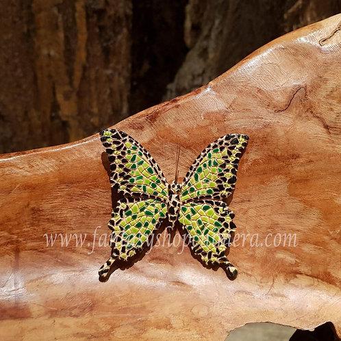 butterfly vlinder barcino spain spanje fridge magnet koelkast magneetarchitect Gaudi.